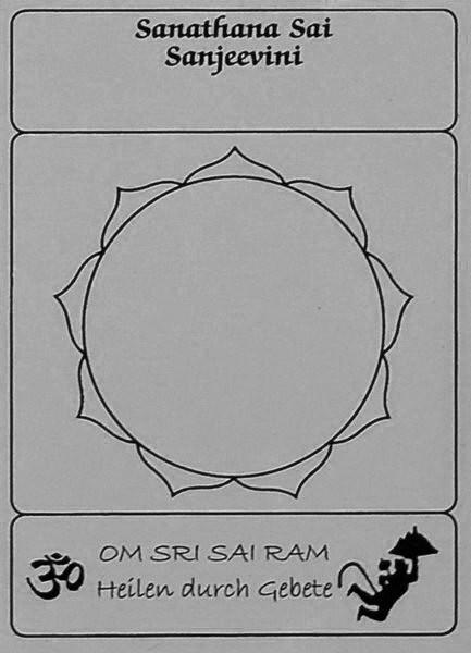 Leerer Lotus Karte 6,5x9cm