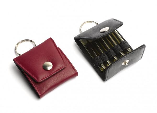 Schlüsselanhänger-Notfall-Etui für 5 Gläser