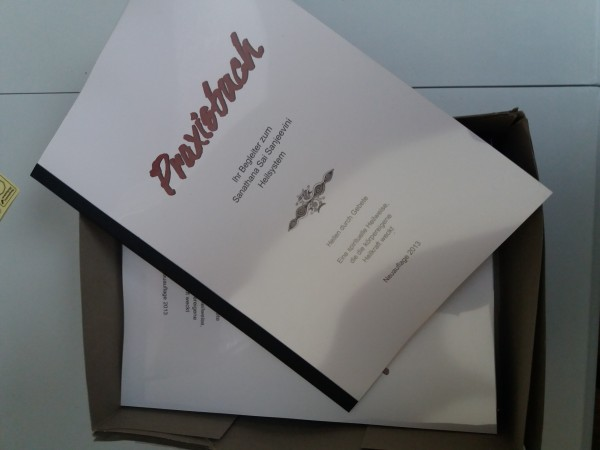 Sanjeevini Praxisbuch Auflage 2013 von Helga Hoffmann - wieder lieferbar